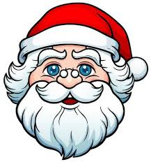 santa claus face images. Contemporary Claus Vector Illustration Of Cartoon Santa Claus Face Intended Images