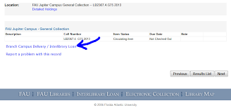 2 this will open the item s record scroll to the bottom of the page and on branch campus deliver interlibrary loan