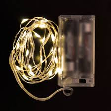 20 Led Lights Battery Operated String Decoration Light Warm White 20led 2m Battery Operated For Christmas Wedding And Parties