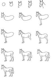 Small Picture how to draw a horse head for kids Free drawing instructions