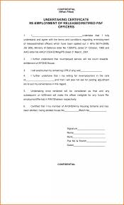 Examples Of Executive Resumes Proof Of Employment Certificate