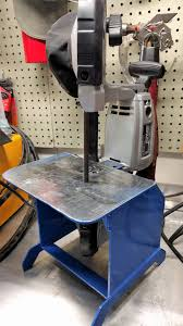 harbor freight bandsaw stand. diy harbor freight portable band saw stand. bandsaw stand