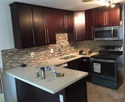 RTA Cabinet Broker 1I Cherry Colored Maple Shaker 908 5 Kitchen