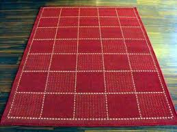 red kitchen mat awesome checked rugs centre regarding leather mats