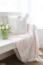 diy valentines lace throw blanket romantic luxury at its best