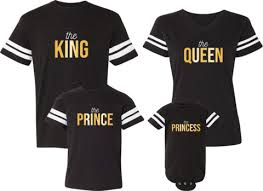 Princess Prince Couples Family King Jerseys Queen – Apparel amp; -|From The Fan