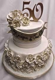 50th Anniversary Cupcake Decorations Anniversary Cake