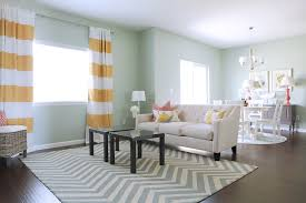 ... Interesting Accessories For Home Interior Decoration With Grey Chevron  Rug : Top Notch Living Room Decoration