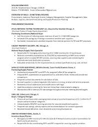 Functional Resume Categories Foodcity Me