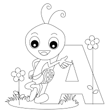 Small Picture Free Printable Alphabet Coloring Pages For Kids And Letter A