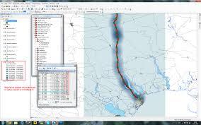 Нужна помощь с дипломом ГИС Форумы gis lab info Если пользоваться spatial analyst tools density kernel density то я получаю такой результат