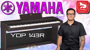 <b>YAMAHA</b> YDP-143 - <b>цифровое пианино</b> для дома - YouTube