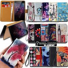 for various tp link neffos smartphones leather smart stand wallet case cover ebay