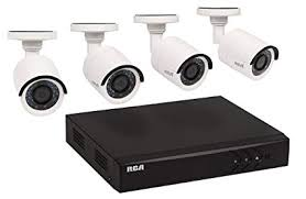 RCA HD Home Security and DVR System, 8 Channel Digital Video Recorder with Four 1080p Amazon.com :