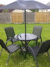 sicily 4 seater patio furniture set