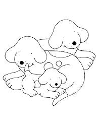 Kids N Fun Kleurplaat Dribbel Dribbel Met Papa En Mama