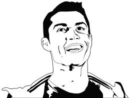 Cristiano Ronaldo Vector Portrait On Wacom Gallery
