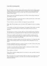 Cover Letter For Teaching Job Teacher Resume Cover Letter Example
