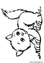 Small Picture The banjo kitten Coloring pages Printable