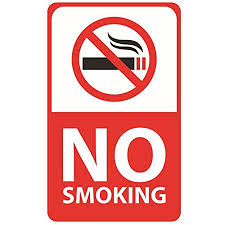 No Smoking Signage No Smoking Signs Adhesive Sticker Warning Signs Clear And Visible