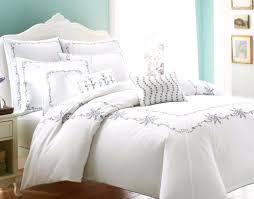 329 laura ashley alicia 3p set fl embroidery king duvet cover white cotton