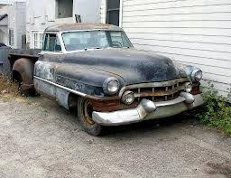 1953 Cadillac pickup... I'd like to restore this, being that ...