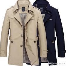fashion stylish men s trench coat 2017 spring men vintage military coat long slim man trench jackets by hlq1026 dhgate com