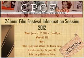 hour film festival brock university s cpcf society