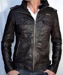 superdry motorcycle ryan leather motorcycle jacket biker brown bark mens brown superdry dresses superdry windcheater jacket uk
