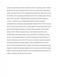 Essay On Marketing Management Is Marketing Management An Art Or A Science Essay