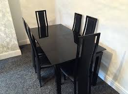 harveys dining table sets furniture black extendable dining table stylish throughout 1 from black extendable dining table harveys glass dining table 6