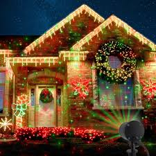 Whole House Christmas Light Projector Halloween Decorations Starry Laser Lights Landscape
