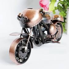 best kids birthday gift fashion bronze color handmade motorcycle
