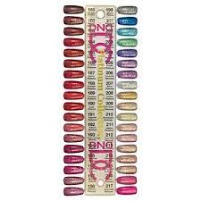 Dnd Gel Color Chart Details About Dnd Dc Gel 2019 Platinum Glitter Complete Set Of 36 Colors Color Chart