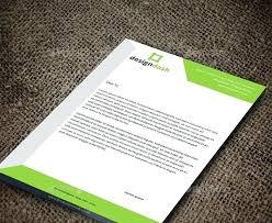 Letterhead Designs Templates Corporate Letterhead Design Template Create Company Free Online For