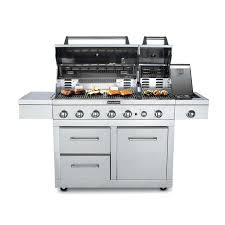kitchenaid gas grill stainless steel dual fuel grill detail kitchenaid 2 burner patio gas grill red