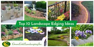 garden and landscaping edging ideas