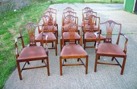 dining chairs shield back dining chairs antique set twelve chairs set of century style shield