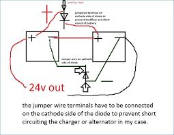 12 volt alternator wiring diagram banksbanking info perkins alternator 12v 65a wiring diagram charging 24v battery with 12v alternator and isolator motor farmall super m wiring diagram