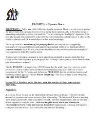 write about something that s important a separate peace essays thesis essay on a separate peace