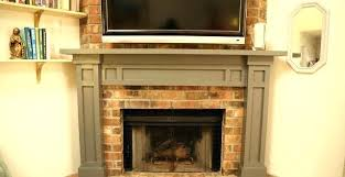 faux stone fireplace makeover mantel and surround rock firepl diy rock fireplace makeover faux