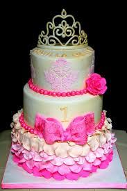 Princess 1st Birthday Cake 11 Princess First Birthday Cakes For Girl