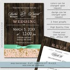 Free Downloadable Wedding Invitation Templates Delectable PRINTABLE Wedding Invitation Template Fall Wedding Invitations