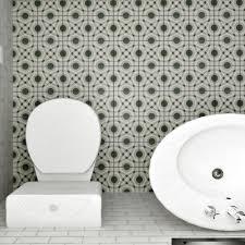 Circle Tiles Merola Tile Twenties Circle 7 3 4 In X 7 3 4 In Ceramic Floor