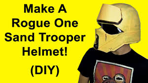 how to make a rogue one strooper helmet diy