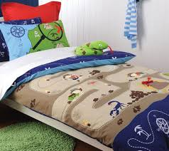 19 best Boy's Room Duvet Covers images on Pinterest | Duvet covers ... & Treasure Hunter Quilt Cover Set by Cubby House Kids - terrific quilt cover  for Isaac's room Adamdwight.com