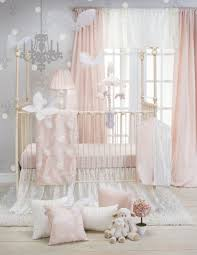 crib bedding set baby girl nursery 3 piece pink newborn soft quilt gift new