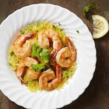 Shrimp quickly defrost in cold water and cook in only a few minutes. Lemon Garlic Marinated Shrimp Recipe Eatingwell