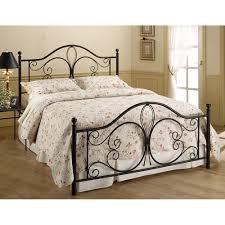 Metal Bedroom Furniture Set Milwaukee Discount Metal Bed In Antique Brown By Hillsdale