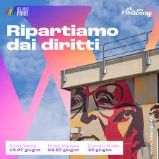 Il Milano Pride 2021 riparte dai diritti e torna in piazza (nel rispetto  delle misure di sicurezza)Al via il Milano Pride 2021, si riparte dai  diritti e dalla piazza (in sicurezza) -